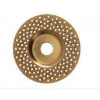 Wholesale 100 X 22.23mm Concave Diamond Grinding Wheel , Diamond Concrete Grinding Disc from china suppliers