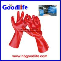 Wholesale pvc coated gloves, pvc dotted gloves, durable pvc glove from china suppliers