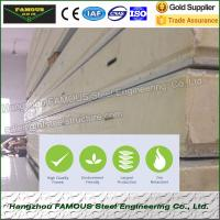 Buy cheap Insulated Embossed Aluminum Polyurethane Sandwich Panel 200mm Cold Room from wholesalers