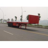 Wholesale 3 axle 40FT Flatbed container semi-trailer from china suppliers