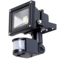 Outside Led Floodlight  with PIR Motion Sensor , Industrial Flood Lights