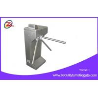 Quality Vertical Coin Operated Turnstiles , Electronic Controlled Access Turnstile Security Gates For Gym for sale