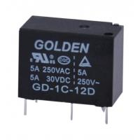 Wholesale 12 Volt Plastic Sealed / Flux Proofed Low Power Relay GD JZC-33F 3-5A from china suppliers