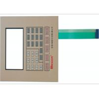Wholesale Embossed PC / PET Membrane Switch Panel 0.05mm - 1.0mm Front Panel Overlays from china suppliers