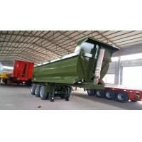 Wholesale 3 Axles Dump Tractor Trailer , Semi Dump Trailers 45T Capacity SGS from china suppliers