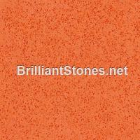 Wholesale Orange Red Quartz Stone, Model 8029 Lucky Orange, Belongs Artificial Stone, Various Sizes from china suppliers