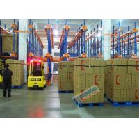 Quality Warehouse Automated Radio Shuttle Racking Cold Supply Chain Pallet Shuttle System for sale