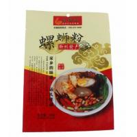 Buy cheap Full Printing three side sealed food grade PET plastic packaging bags for noodles packing from wholesalers