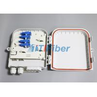 Wholesale SC 8 Port Waterproof Fiber Optic Distribution Box for FTTH Networks from china suppliers
