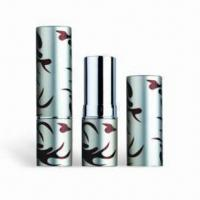 Wholesale Cosmetic Packaging/Lipstick Tubes, Customized Colors are Accepted, Available with Height of 71mm from china suppliers