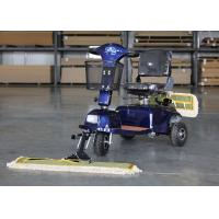 Wholesale OEM / ODM Wireless Floor Mopping Machine Dust Cart Scooter 900MM Cleaning Width from china suppliers