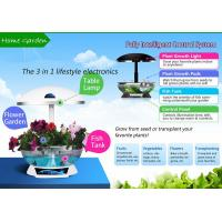 Wholesale Mocle Farm smart garden Hydroponic technology as fish tank and table lamp from china suppliers