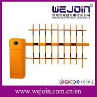 Quality Aluminum Alloy Parking Lot Barrier Gates / High Way Toll Car Park Barrier Arms for sale