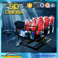 Wholesale 6 DOF Snow Virtual Reality 5D Cinema Equipment  With Hydraulic / Electric Platform from china suppliers