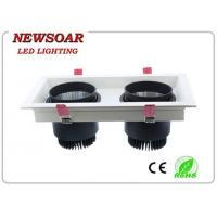 Wholesale manufacture elegant double lamps led downlights-cob grille light from china suppliers