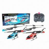 Wholesale 3-channel I/R Mini Helicopter, Made of ABS and Nylon Material from china suppliers
