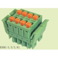 Wholesale Simple Plug In PCB Terminal Block Wire Range 28 - 16 AWG Connector Terminal Block from china suppliers
