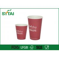 2.5 oz to 22 oz Craft Single Wall Paper Cups , Hot Cold Beverage Disposable Cup With Lid
