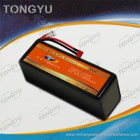 Wholesale Rechargeable11000mAh 20C LiPo RC Battery Pack  UAV 6S 22.2V from china suppliers