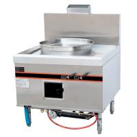 Wholesale Stainless Steel 52KW Gas Cooking Steamer Chinese Cooking Stove 900x950x1150mm from china suppliers