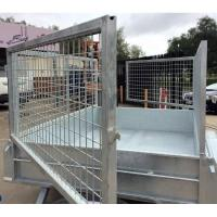 Wholesale 7x5 Heavy Duty Hot Dipped Galvanized Cage Trailer from china suppliers