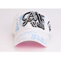 Wholesale Customized Adjustable Cotton Printed Baseball Caps Visor For Outdoor from china suppliers