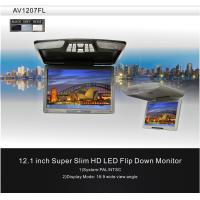 Wholesale Gray 12.1inch Car Flip Down Monitor Wide View Angle RCA from china suppliers