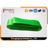 Wholesale 2 Ton Duplex Synthetic Endless Webbing Sling Green High Flexible Lifting Belt from china suppliers