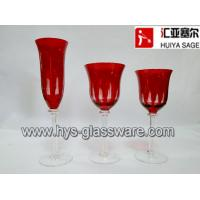Wholesale Engraved glasses, flute red wine white wine glasses, 2014 new style, hot item from china suppliers