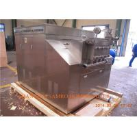 Wholesale Milk / Juice Processing Types Ice Cream Homogenizer Two stages manual type from china suppliers