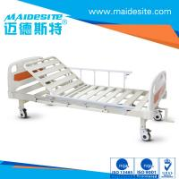 Wholesale ISO CE Certificated One Crank Electric Patient Bed , Falling Protection Backrest Lifting 0-80° from china suppliers
