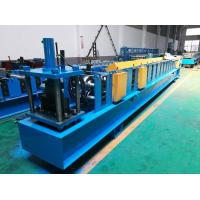 Wholesale Seamless Half Round Gutter Roll Forming Machine With Side Panel Structure from china suppliers