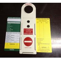 Buy cheap Safe Plastic Tag / Scaffolding Safety Products / Warning Function from wholesalers