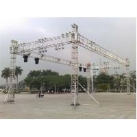 Quality 40*40ft Dj Truss System  , Aluminium Stage Truss Connect With Global Truss for sale