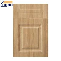 Wholesale Thermofoil Replacement Pvc Kitchen Cabinet Doors With MDF Fiberboard from china suppliers