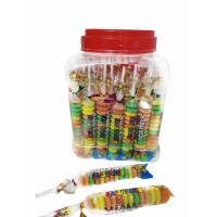 Wholesale Colorful and Sweet Multi Fruit Flavor Roll Healthy Hard Compress Candy in Jars from china suppliers