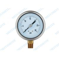 Wholesale 4 Inch tube manometer liquid pressure gauge , electric contact pressure gauges from china suppliers