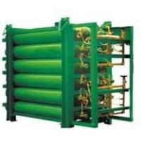 Buy cheap 200 L X 28 Bottles Cascade Filling System CNG Storage Tanks With Hot Dip Galvanized Plating from wholesalers