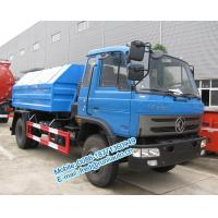 Wholesale Hydraulic lift blue color Dongfeng 4X2 8 ton hook lift truck cheap price for sale from china suppliers