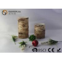 Wholesale LED Real Wax Tree Candle With Hemp ,  Carved Craft LED Candle from china suppliers