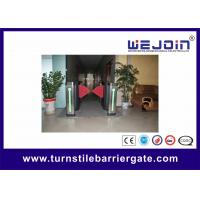 Wholesale Alarm High Speed Retractable Flap Barrier Auto Detection Half Height Turnstile from china suppliers