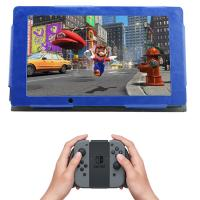 Buy cheap Dual Purposes Nintendo Switch Parts PU Leather Protective Skin Cover Case Light Weight from wholesalers