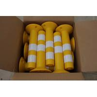 Quality TPU WARNING POST DELINEATOR spring post Road Flexible Delineator traffic  Bollard for sale