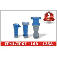 Wholesale Blue IP44 Industrial Power Socket Pin And Sleeve Electrical Connectors from china suppliers