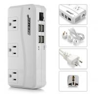 Wholesale 200W Travel Power Converter 220V to 110V With 4 ports Smart USB Charger from china suppliers