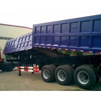 Wholesale Garden Landscape Dump Truck Trailer With Hydraulic Cylinder Lifting system from china suppliers