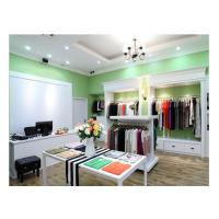 Wholesale Luxury Simple Modern Decoration Retail Shop Fittings , Free Design Slatwall Shop Fittings from china suppliers