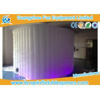 Wholesale Pvc Coated Oxford Inflatable Photo Booth Lighting Air Tent For Promotional from china suppliers