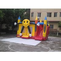 Wholesale Commercial Grade Durable Smile Face Inflatable Jumping House For Party from china suppliers