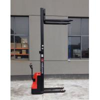 Wholesale 1T 3m  Full Electric Stacker /electric trolley with adjustable fork /fork positioner cheapest price for Colombia market from china suppliers